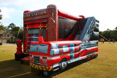 "Inflatable # 49 ""Fire Station"""