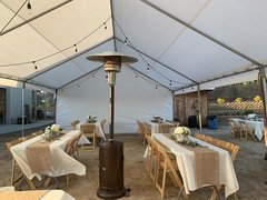 Canopies and Outdoor Heaters