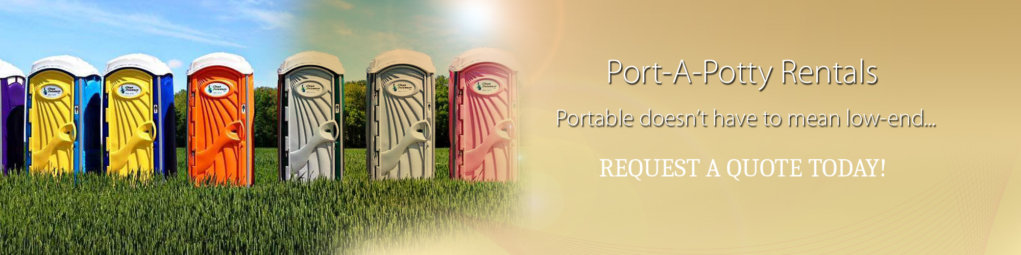 Port-A-Potty Rentals