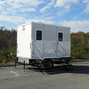 2 Station Luxury Restroom Trailer