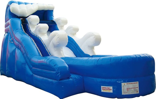 16 Foot Riptide Water Slide