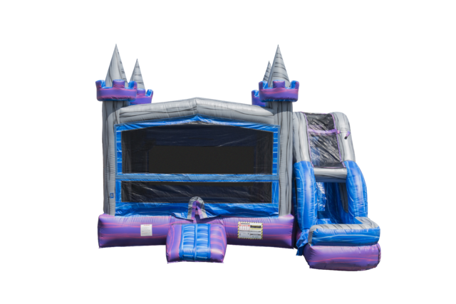 Crystal Castle 5 in 1 Combo Water Slide