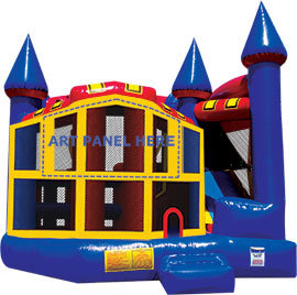Kings Castle 5 in 1 Combo Dry Slide