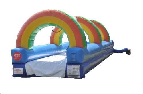 30 Foot Rainbow Slip and Slide