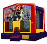 Castle Superhero Bouncer