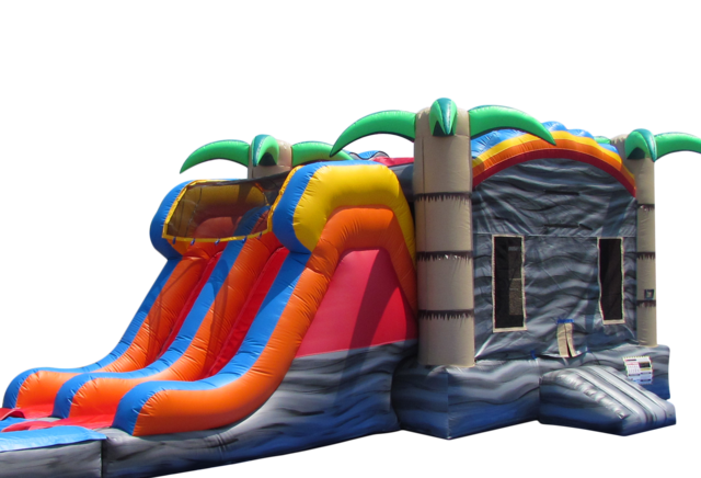 Tropical Fiesta Combo Dry Slide