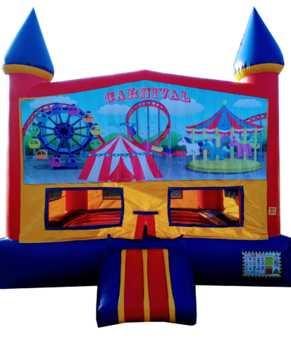 Castle Carnival Bouncer