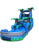 18 Foot Blue Crush Water Slide