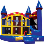 Kings Castle 5 in 1 Combo Water Slide