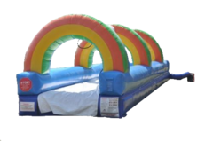 Rainbow Slip and Slide