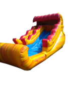 14 Foot Volcano Rush Slide Dry Slide