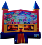 Castle Birthday Bouncer