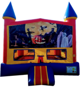 Castle Halloween Bouncer