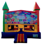 Rainbow Birthday Bouncer