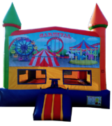 Rainbow Carnival Bouncer