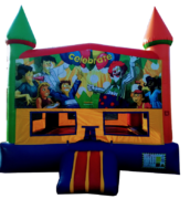 Rainbow Celebration Bouncer