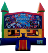 Rainbow Sports Bouncer
