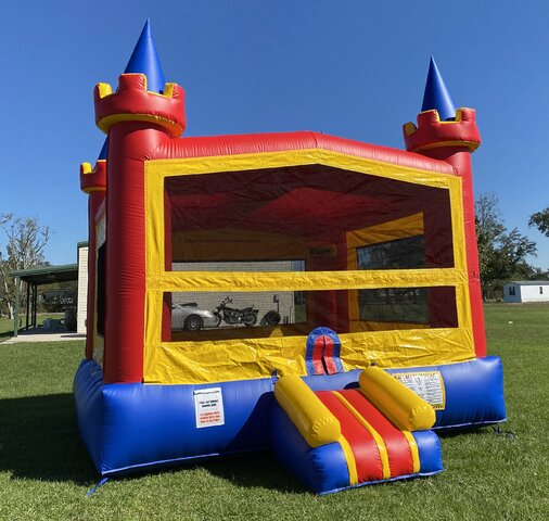 Primary Color Bounce House