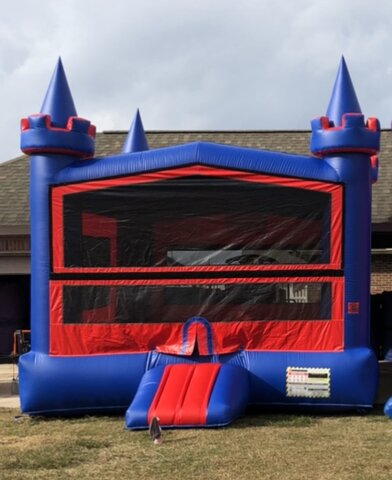Red Blue Bounce House