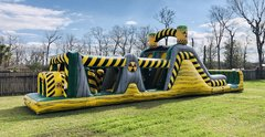 47 Foot Biohazard Blast Obstacle Course (Dry)
