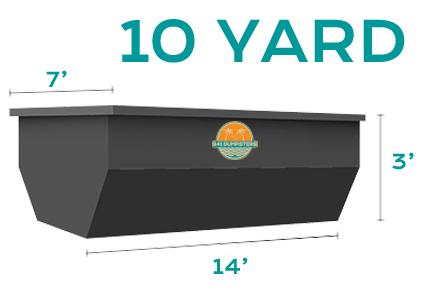 10 YD Dumpster Rental Sarasota Bradenton