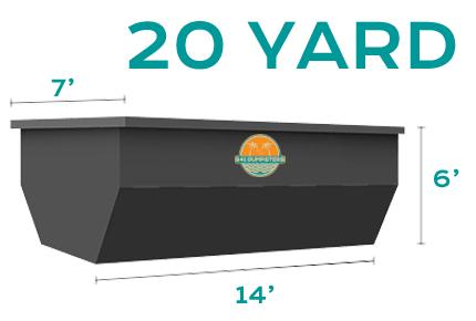 20 YD Dumpster Rental Sarasota Bradenton