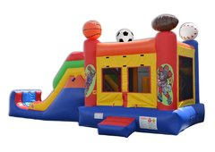 5 in 1Sport Arena External Slide Combo