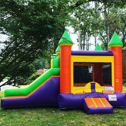 Colorful Castle Combo Bounce House, Carrollton, VA