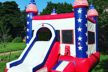 Bouncy Castle Bounce House Military Discount