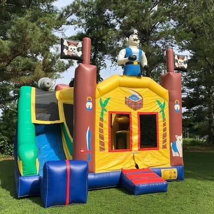 Pirate 5-in-1 Combo Bounce House, Norfolk, VA