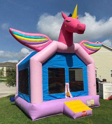 Unicorn Bounce House, Ivor, VA