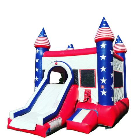 Stars and Stripes w/ Slide and Hoop