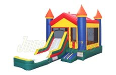 Castle w/ Slide and Water Tub