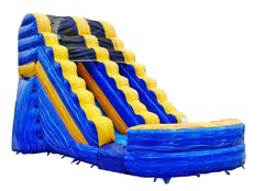 16' Blue Waterslide
