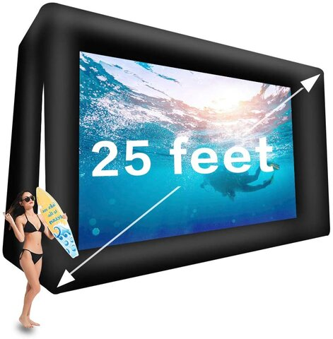 Outdoor Movie Screen - 25ft