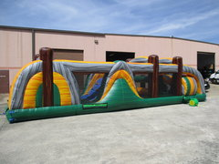 68ft Tropical obstacle course