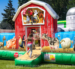 Toddler Farmyard Inflatable Rentals