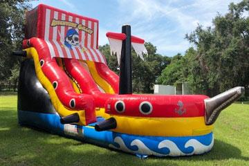 Pirate's Birthday Water Slide
