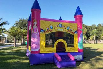 Princess Birthday Castle Rentals