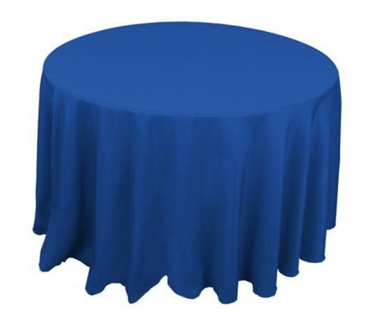Royal Blue Table Cloth