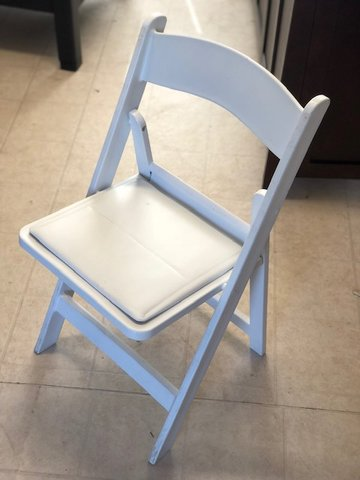 White Wooden Looking Chairs