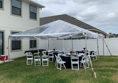 20 x 20 Clear Top Tent