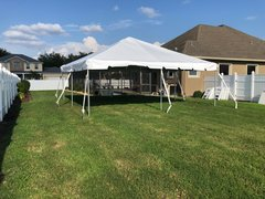 20 x 20 White Top Tent