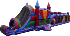 Bounce House With Obstacle Couse