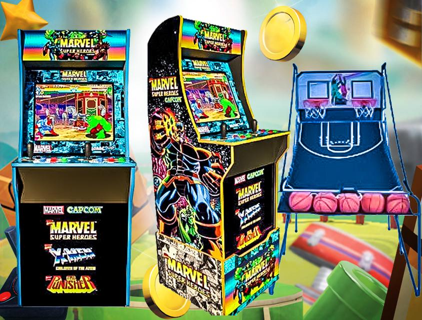 Arcade game rentals near Hattiesburg Mississippi