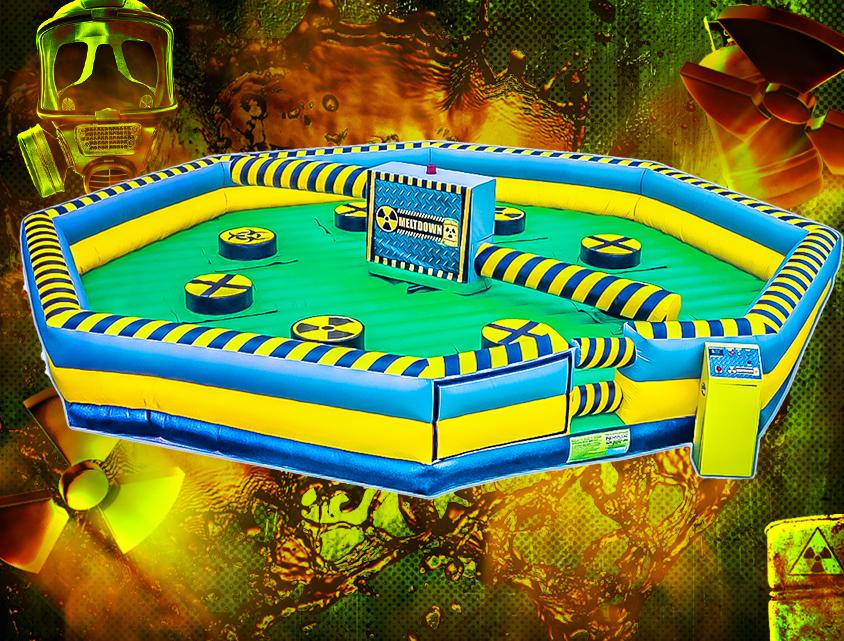Toxic Meltdown Inflatable game rental near me