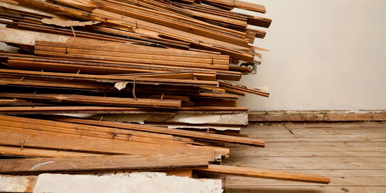 Construction cleanup and debris removal