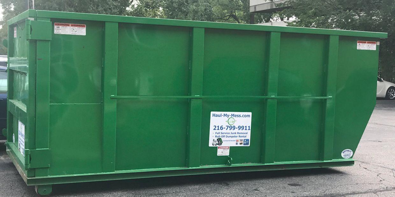 book Cleveland heights dumpster rental services online .