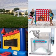 Summer Party Package with Red & Blue Bounce
