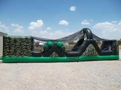 Camo 2 Piece Obstacle Course